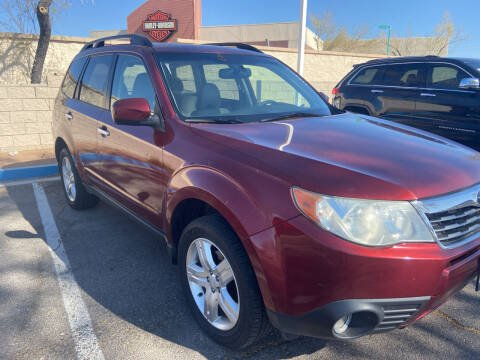 2010 Subaru Forester for sale at BELOW BOOK AUTO SALES in Idaho Falls ID