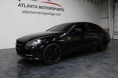 2012 Mercedes-Benz CLS for sale at Atlanta Motorsports in Roswell GA