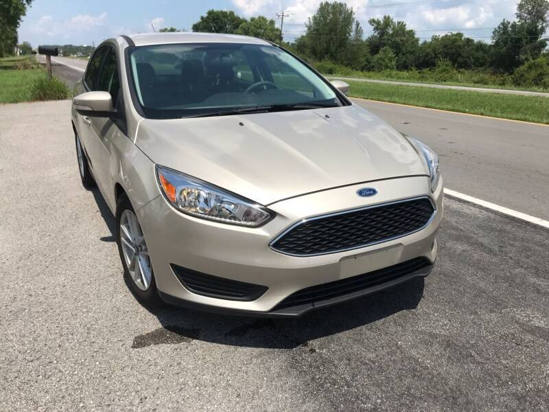 2017 Ford Focus for sale at Tennessee Auto Brokers LLC in Murfreesboro TN