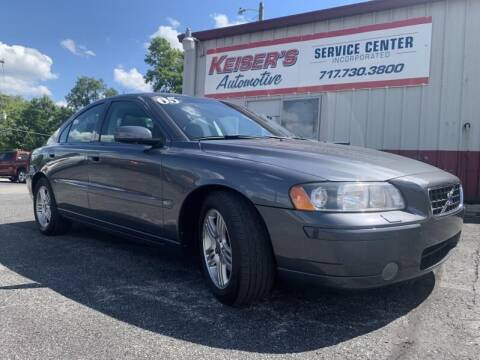 2005 Volvo S60 for sale at Keisers Automotive in Camp Hill PA