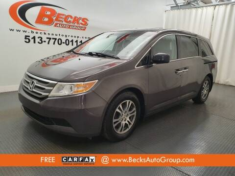 2012 Honda Odyssey for sale at Becks Auto Group in Mason OH