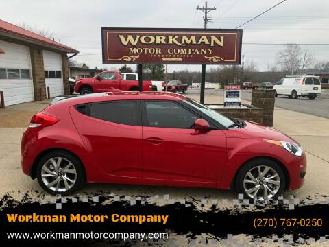 2016 Hyundai Veloster for sale at Workman Motor Company in Murray KY