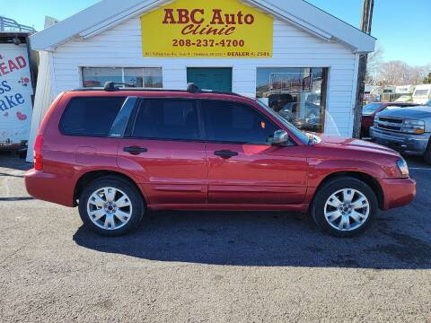 2003 Subaru Forester for sale at ABC AUTO CLINIC - Chubbuck in Chubbuck ID