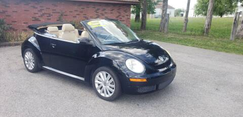 2008 Volkswagen New Beetle Convertible for sale at Elite Auto Sales in Herrin IL