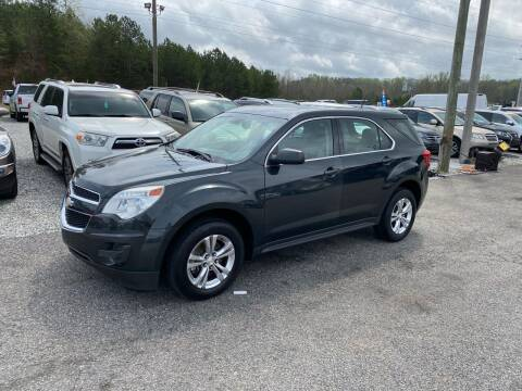 2014 Chevrolet Equinox for sale at Billy Ballew Motorsports in Dawsonville GA