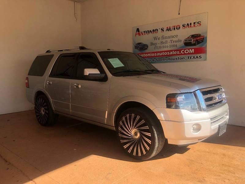 2013 Ford Expedition for sale at Antonio's Auto Sales - Antonio`s  3001 in Pasadena TX