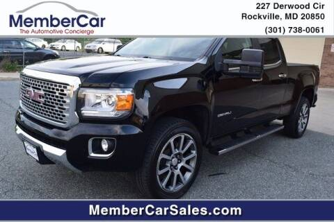 2018 GMC Canyon for sale at MemberCar in Rockville MD