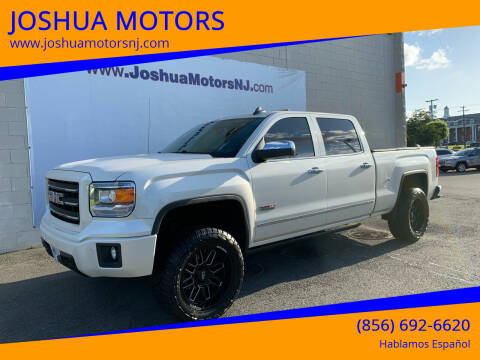 2015 GMC Sierra 1500 for sale at JOSHUA MOTORS in Vineland NJ