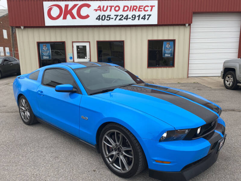 2012 Ford Mustang for sale at OKC Auto Direct in Oklahoma City OK