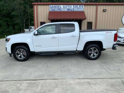 2017 Chevrolet Colorado for sale at Daniel Used Auto Sales in Dallas GA