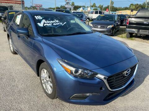 2018 Mazda MAZDA3 for sale at Marvin Motors in Kissimmee FL