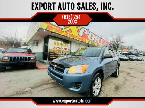 2012 Toyota RAV4 for sale at EXPORT AUTO SALES, INC. in Nashville TN