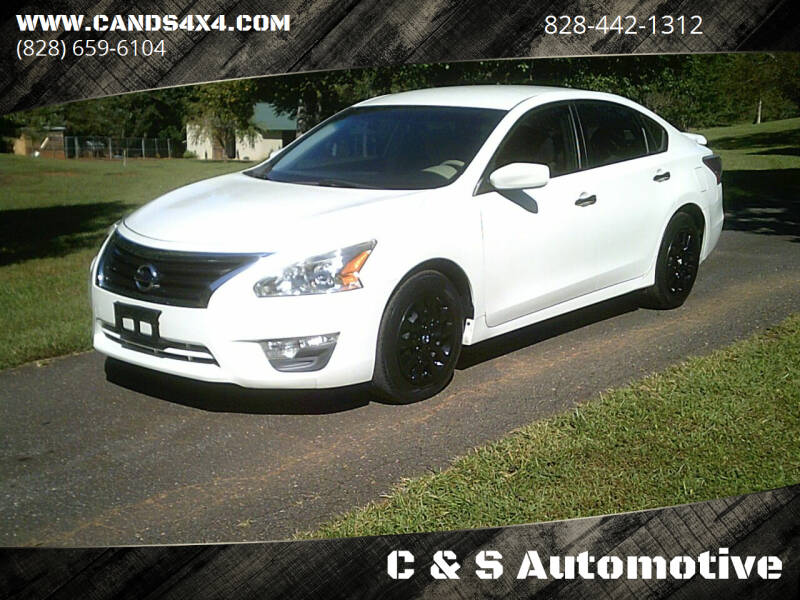 2013 Nissan Altima for sale at C & S Automotive in Nebo NC