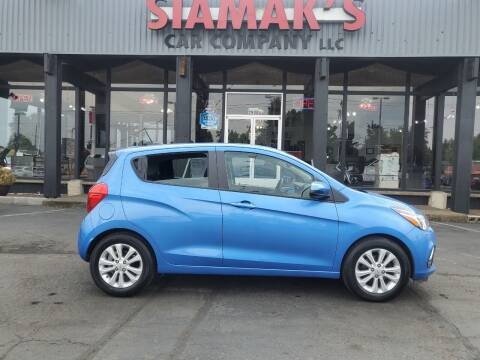 2017 Chevrolet Spark for sale at Siamak's Car Company llc in Salem OR