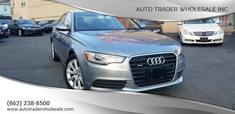 2013 Audi A6 for sale at Auto Trader Wholesale Inc in Saddle Brook NJ
