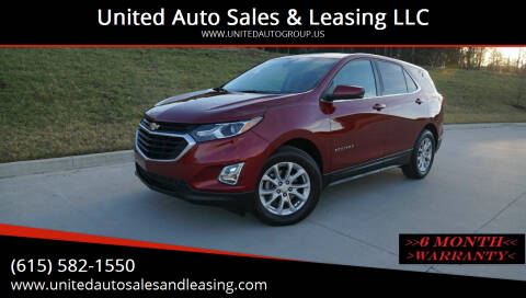 2018 Chevrolet Equinox for sale at United Auto Sales & Leasing LLC in La Vergne TN