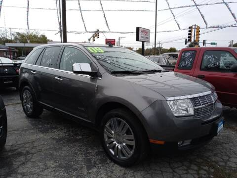 2009 Lincoln MKX for sale at Arak Auto Group in Bourbonnais IL
