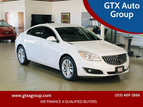 2016 Buick Regal for sale at GTX Auto Group in West Chester OH