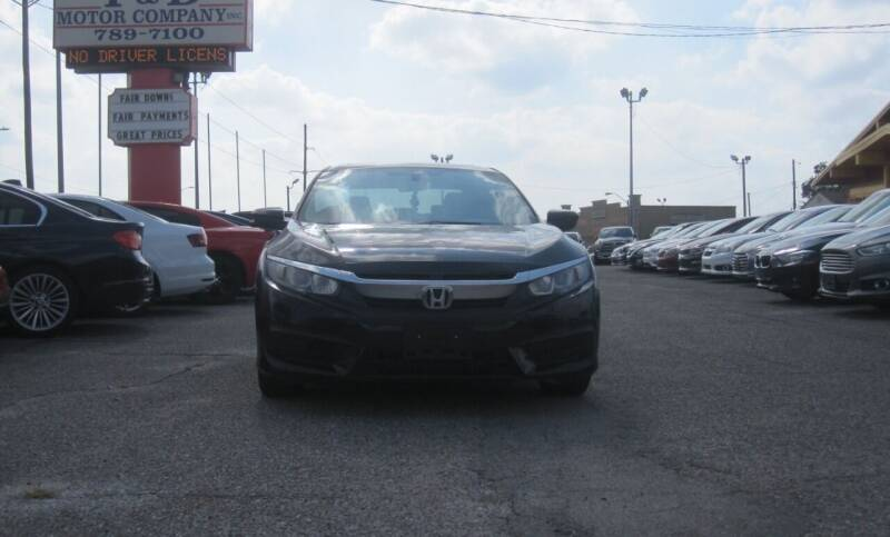 2016 Honda Civic for sale at T & D Motor Company in Bethany OK
