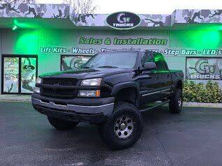 2004 Chevrolet Silverado 1500 for sale at Greenway Auto Sales in Jacksonville FL