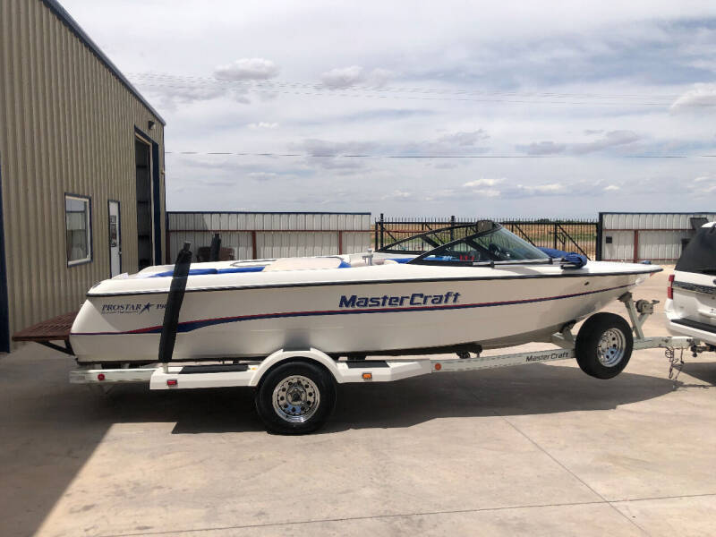 1995 MasterCraft ProStar 190 for sale at TEXAS CAR PLACE in Lubbock TX