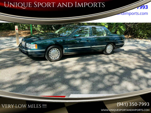 1999 Cadillac DeVille for sale at Unique Sport and Imports in Sarasota FL