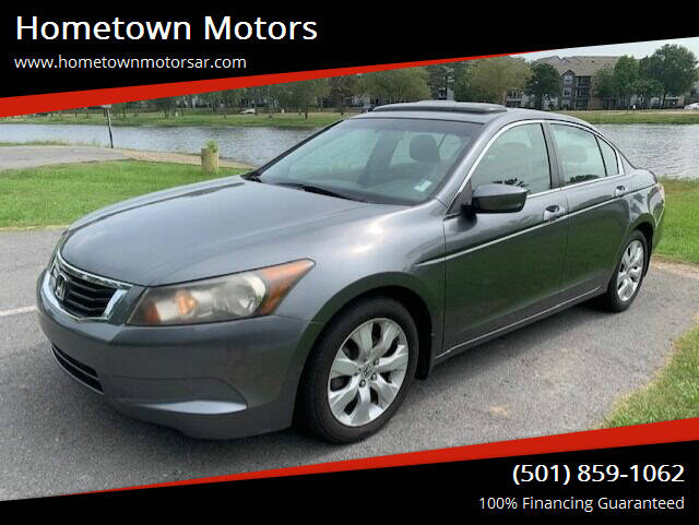 2008 Honda Accord for sale at Hometown Motors in Maumelle AR