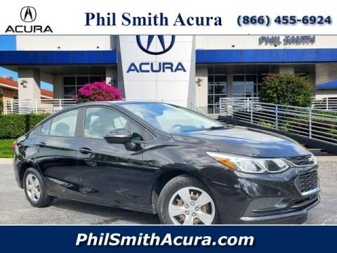 2018 Chevrolet Cruze for sale at PHIL SMITH AUTOMOTIVE GROUP - Phil Smith Acura in Pompano Beach FL
