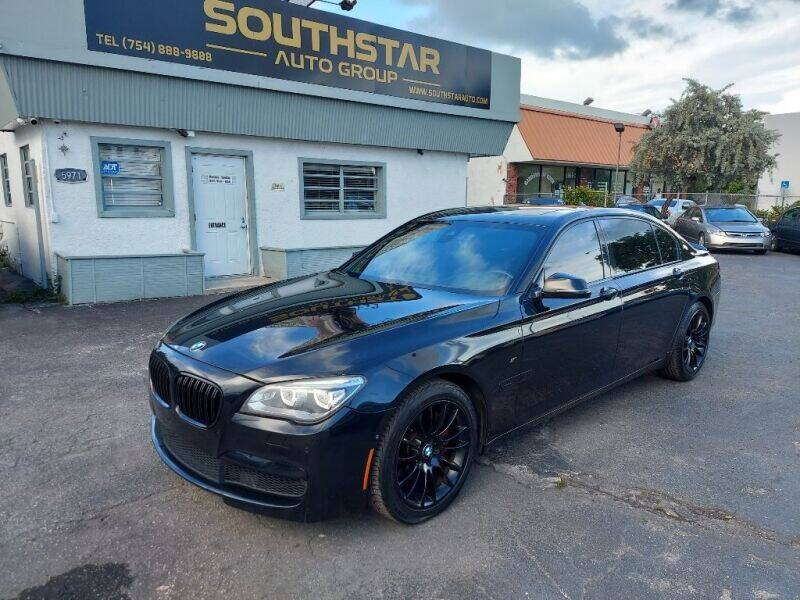 2015 BMW 7 Series for sale at Southstar Auto Group in West Park FL