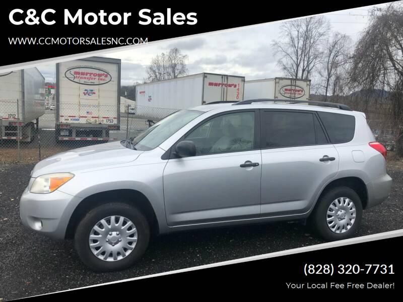 2007 Toyota RAV4 for sale at C&C Motor Sales LLC in Hudson NC