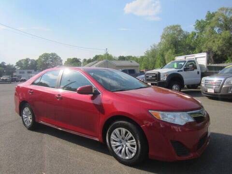 2012 Toyota Camry for sale at Auto Choice of Middleton in Middleton MA
