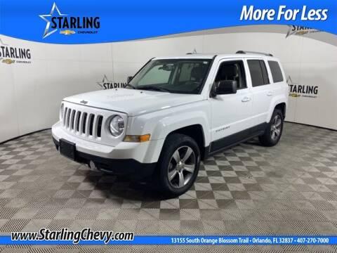 2016 Jeep Patriot for sale at Pedro @ Starling Chevrolet in Orlando FL