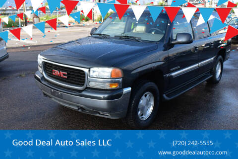 2003 GMC Yukon XL for sale at Good Deal Auto Sales LLC in Denver CO