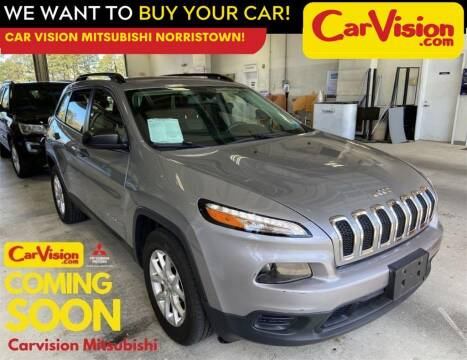 2016 Jeep Cherokee for sale at Car Vision Mitsubishi Norristown in Norristown PA