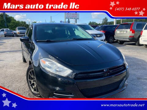 2013 Dodge Dart for sale at Mars auto trade llc in Kissimmee FL