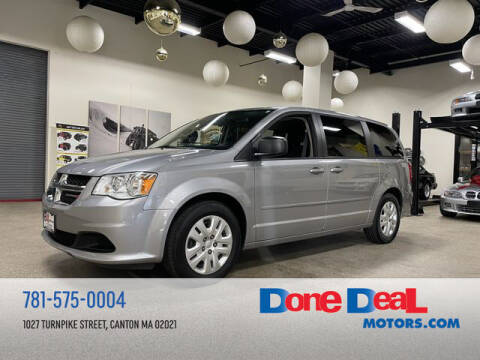 2016 Dodge Grand Caravan for sale at DONE DEAL MOTORS in Canton MA