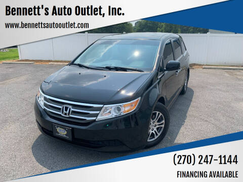 2011 Honda Odyssey for sale at Bennett's Auto Outlet, Inc. in Mayfield KY