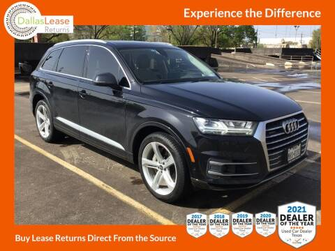 2019 Audi Q7 for sale at Dallas Auto Finance in Dallas TX