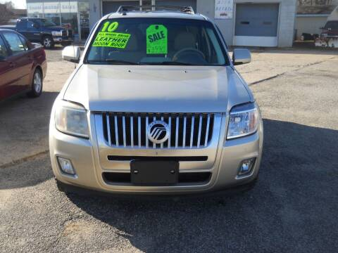 2010 Mercury Mariner for sale at Shaw Motor Sales in Kalkaska MI