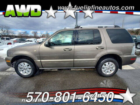 2006 Mercury Mountaineer for sale at FUELIN FINE AUTO SALES INC in Saylorsburg PA