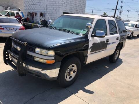 2002 Chevrolet Tahoe for sale at OCEAN IMPORTS in Midway City CA