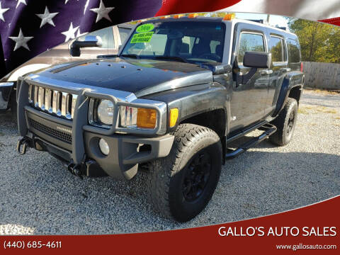 2006 HUMMER H3 for sale at Gallo's Auto Sales in North Bloomfield OH
