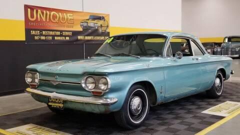1964 Chevrolet Corvair for sale at UNIQUE SPECIALTY & CLASSICS in Mankato MN