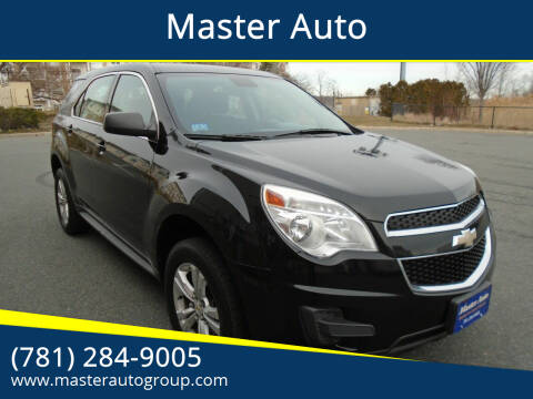 2012 Chevrolet Equinox for sale at Master Auto in Revere MA