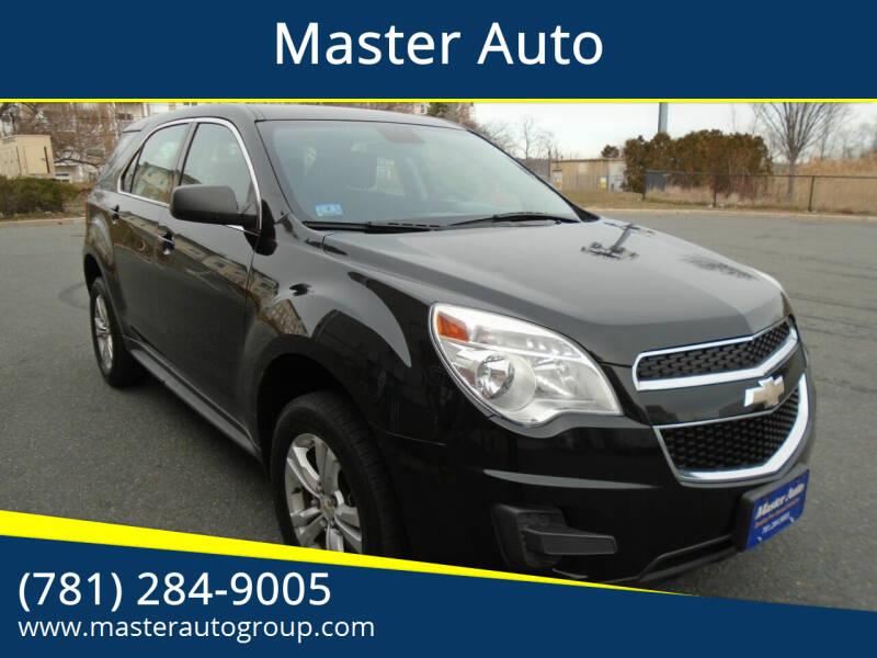 2012 Chevrolet Equinox for sale at Master Auto in Revere MA