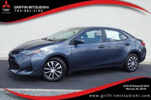 2018 Toyota Corolla for sale at Griffin Mitsubishi in Monroe NC
