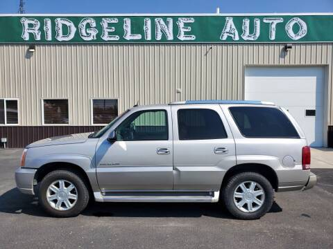 2005 Cadillac Escalade for sale at RIDGELINE AUTO in Chubbuck ID