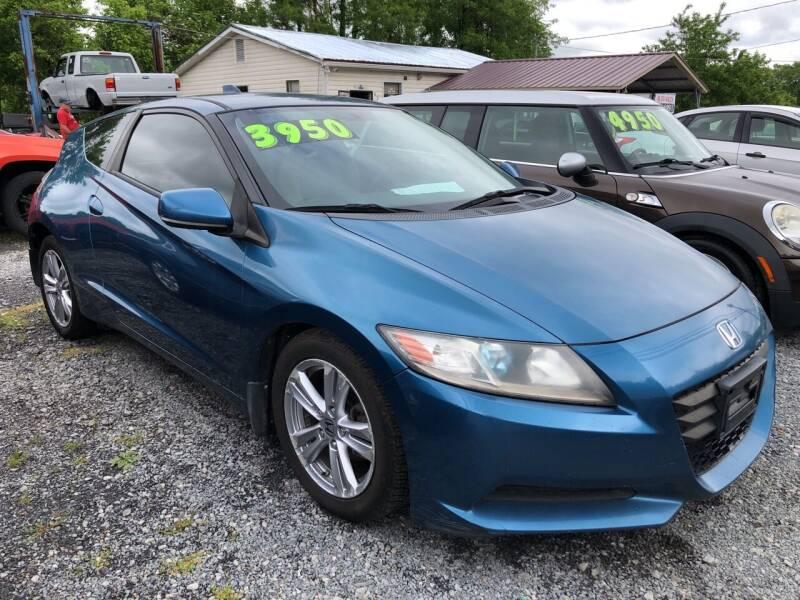 2011 Honda CR-Z for sale at Rocket Center Auto Sales in Mount Carmel TN
