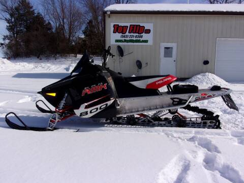 2012 Polaris 800 RMK PRO 155 for sale at Toy Flip LLC in Cascade IA