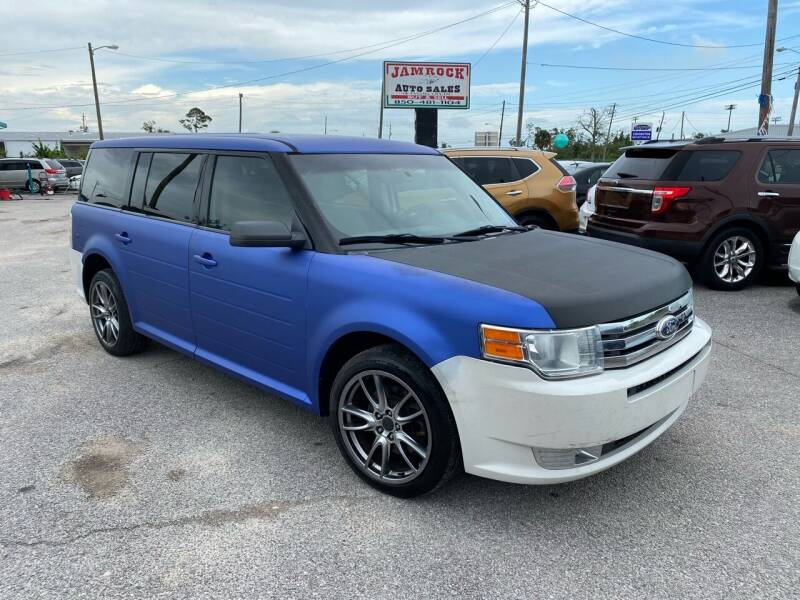 2012 Ford Flex for sale at Jamrock Auto Sales of Panama City in Panama City FL